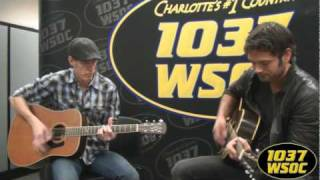 "103.7 WSOC: Chuck Wicks sings ""She Don"