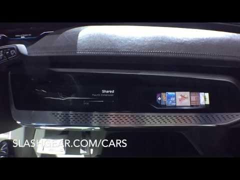 Audi Prologue Interior - Sneak Peak at LA Auto Show 2014
