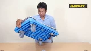 Video mở hợp hướng dẫn lắp đặt và sử dụng xe đẩy hàng Dandy UPL-LSC