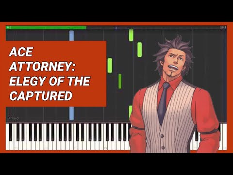 Ace Attorney: Trials and Tribulations - Elegy of the Captured (Piano) 逆転裁判