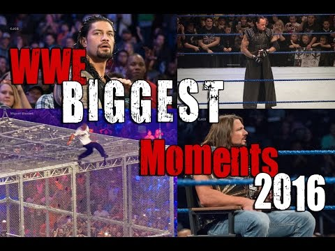 WWE's Biggest Moments Of 2016
