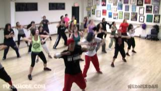 Can't Hold Us - Macklemore and Ryan Lewis - FUNKMODE Adult Hip Hop Dance Class - November 2012