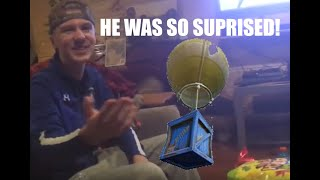 REAL LIFE FORTNITE SUPPLY DROP! KID GETS SURPRISED ON HIS BIRTHDAY!