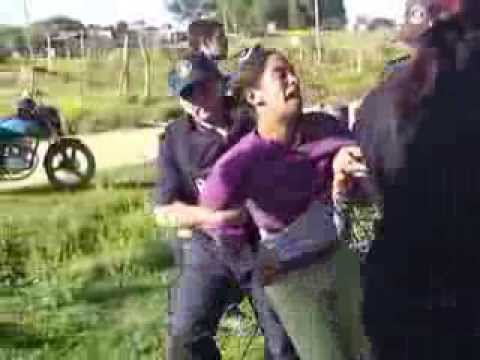 Violento desalojo en Barrio Hipodromo - Rocha