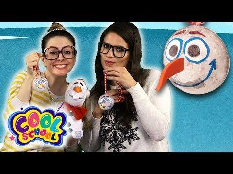 DIY Olaf Frozen Ornament Craft! Fun Kids' Christmas DIYs!   Arts & Craft with Crafty Carol