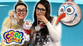 DIY Olaf Frozen Ornament Craft! Fun Kids' Christmas DIYs! | Arts & Craft with Crafty Carol