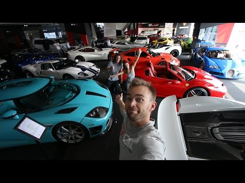 Dubai Supercar Shopping