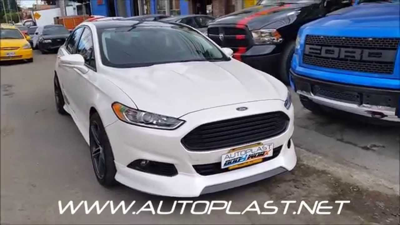 Autoplast Bodyworx Bodykit Ford Fusion Youtube