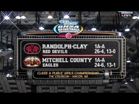 Mitchell County vs Randolph-Clay - GHSA BBall Finals 1A Girls - March 6, 2014