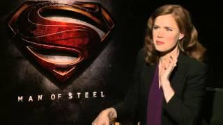 Amy Adams Interview - Man of Steel