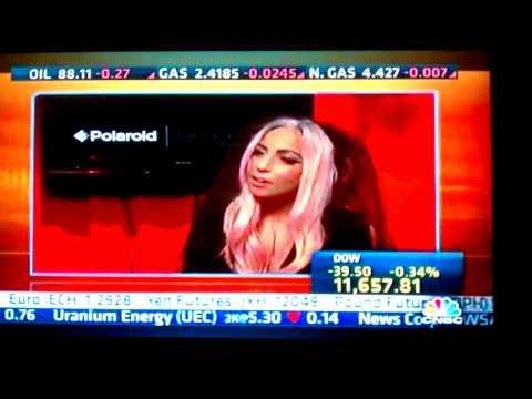 22cc6390e9dc Gaga for polaroid... camera in shades - YouTube