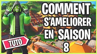 HOW TO IMPROVE ON FORTNITE IN CONSTRUCTION / EDIT / AIM IN SAISON 8