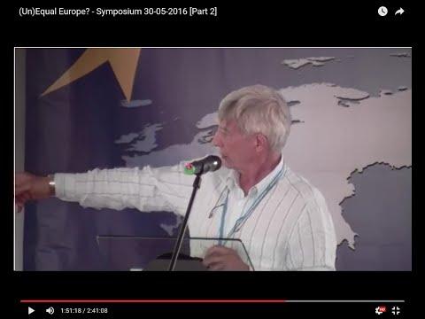 (Un)Equal Europe? - Symposium 30-05-2016 [Part 2]