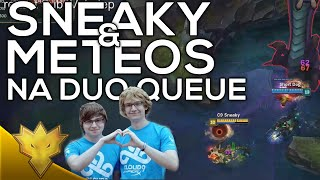 C9 Sneaky & Meteos - NA Duo Queue Funny Moments