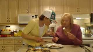 How To Cook Bacon & Mozzarella Stuffed Portabello Mushrooms: Cooking With Kimberly