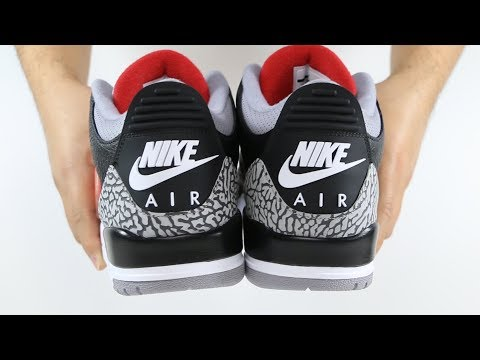 The 2018 Air Jordan 3 Retro Black Cement | @mjo23dan