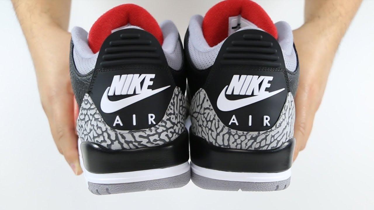 cf085211cf3af6 The 2018 Air Jordan 3 III Retro Black Cement