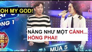 Trấn Thành bất ngờ khi BB Trần xuất hiện làm thí sinh Giọng Ải Giọng Ai với hit Cánh Hồng Phai