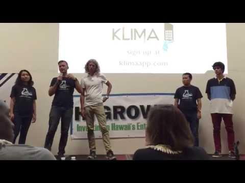 Klima App Startup Weekend Honolulu