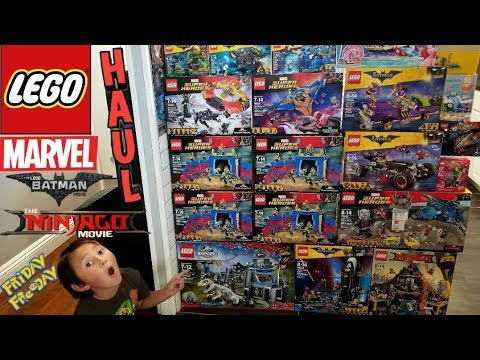 MASSIVE LEGO HAUL!!! NINJAGO, BATMAN, MARVEL, JURASSIC WORLD! Toys, Fanmail, News & Updates FF#61!