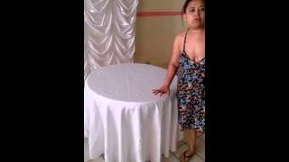 cycerceracortinas& qual o tamanho da toalha pra sua mesa redonda