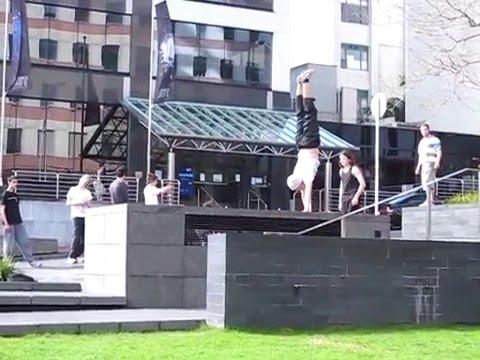 Auckland Sunday Parkour Training