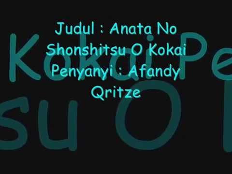 Afandy Qritze - Anata No Shonshitsu O...