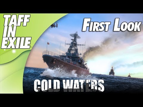 Cold Waters | New Cold War Sub Game | First Look