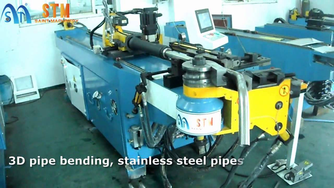 Stm Saint Machinery Stb 50cnc Mandrel Pipe Bender