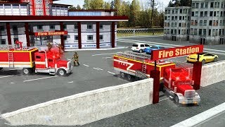 Rescue Fire Truck Simulator Android Gameplay HD screenshot 4