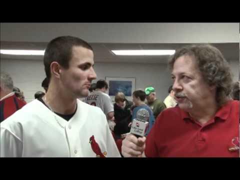 Cardinals Caravan 2011 -- Pete Kozma