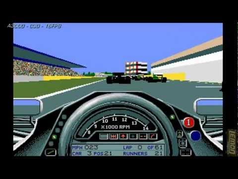Formula One Grand Prix (F1GP) (Amiga) - A Track Guide and Review - by LemonAmiga.com
