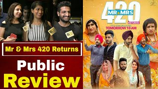 Mr & Mrs 420 Returns | Jassie Gill | Ranjit Bawa | New Punjabi Movie Review | Public Review