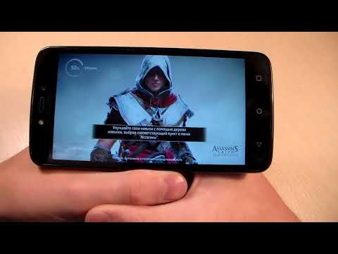Игры Motorola Moto C Plus (GTA:SanAndreas, Assassin'sCreed:Identity, RealRacing3)
