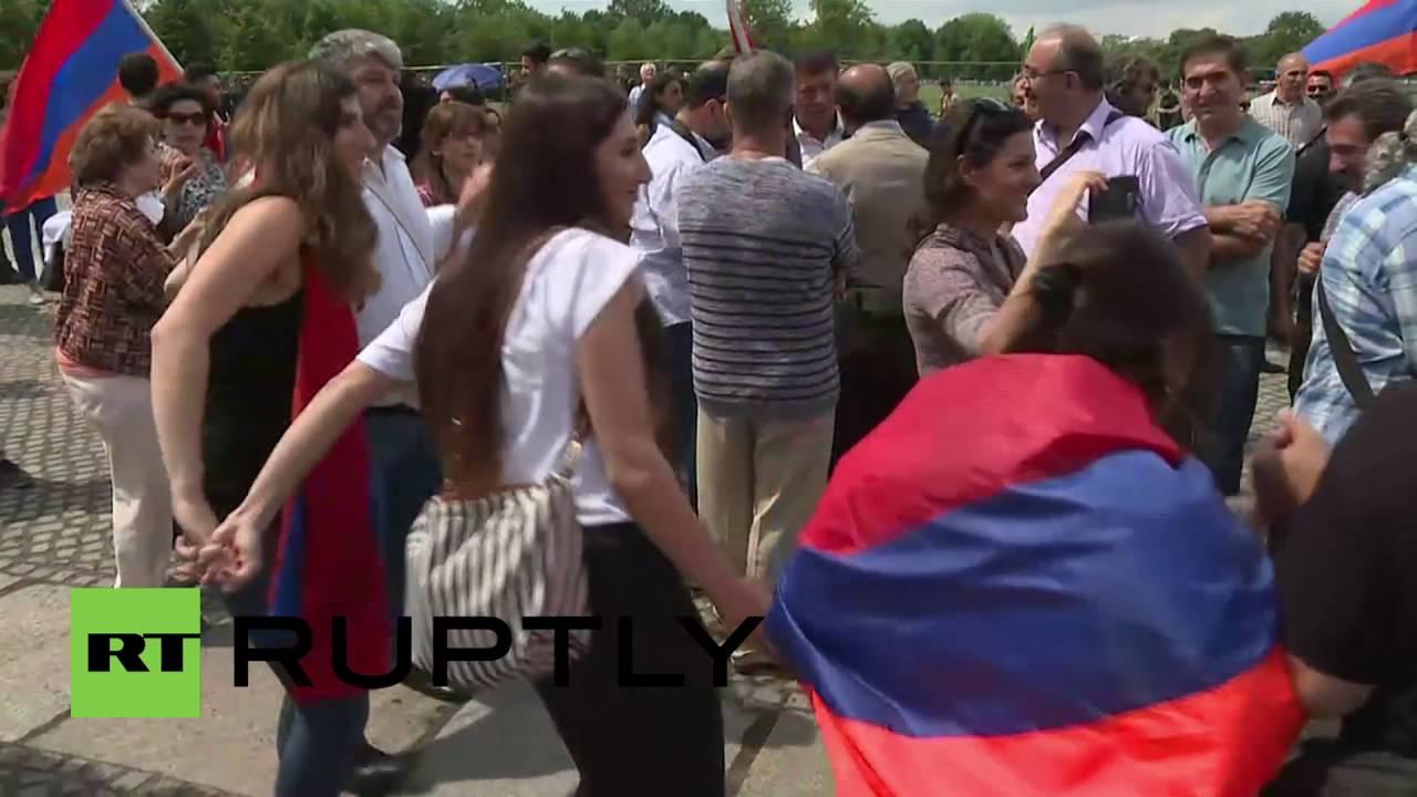 Germany: Armenians celebrate Bundestag's recognition of Armenian genocide