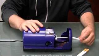 Repeat youtube video CBI Electronic Cigarette Roller Machine