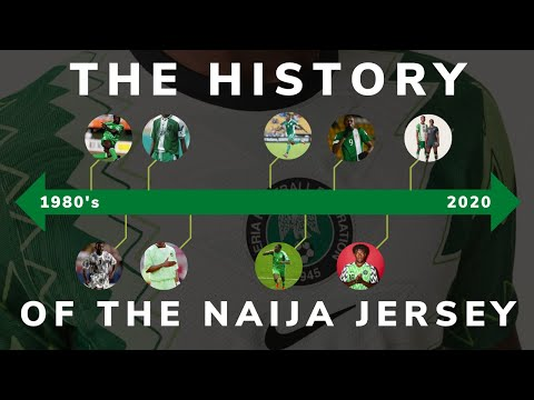 The History Of The Nigeria Football Jersey