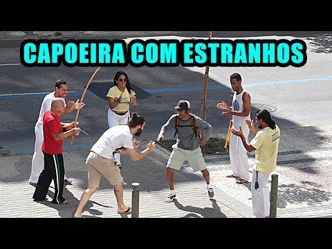 PEGADINHA | CAPOEIRA COM ESTRANHOS