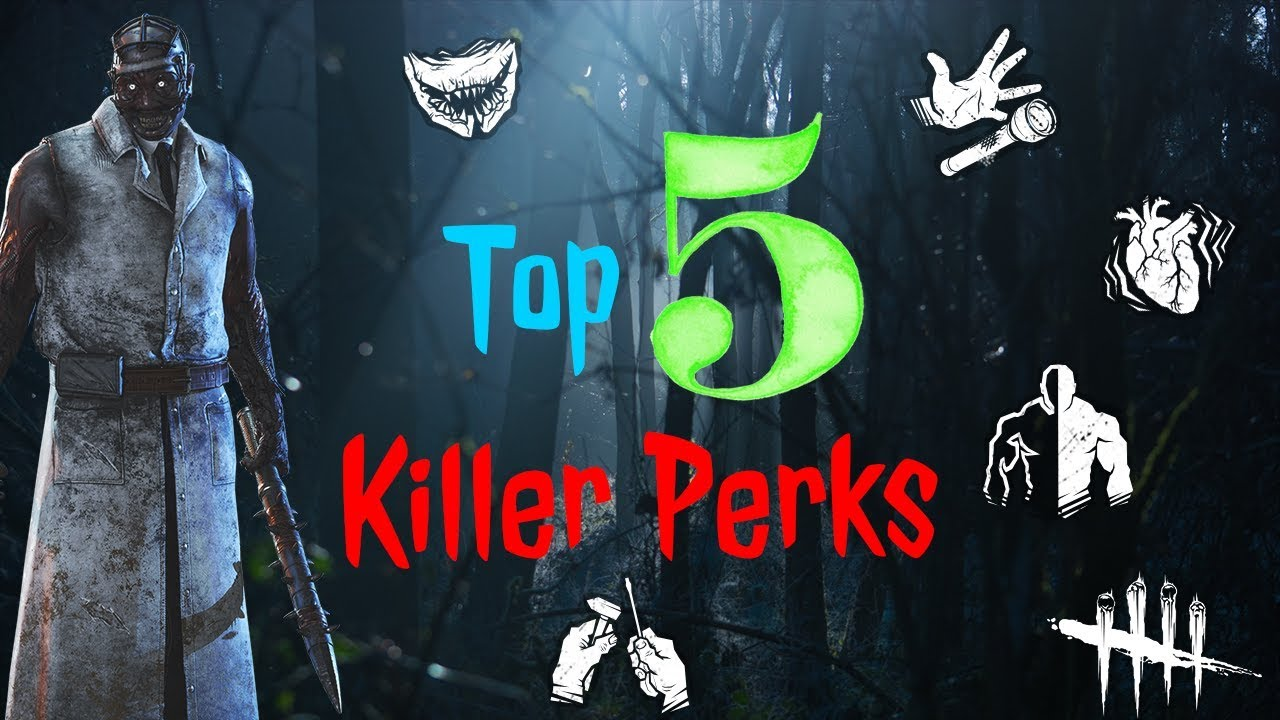 Dead by Daylight Top 5 Killer Perks [OUTDATED]