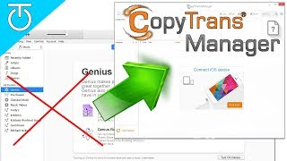 how to use CopyTrans Manager (Itunes Alternative) to add songs and videos to your iPhone/iPod/iPad
