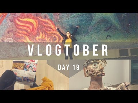 VLOGTOBER // The Dallas Museum of Art!