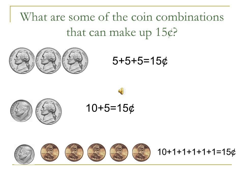 Coin Combination