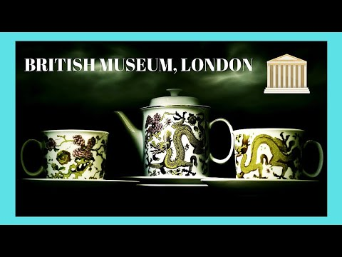 LONDON, magnificent ancient CHINESE CERAMICS at the BRITISH MUSEUM