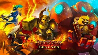 Stickman Legends Gameplay Android/IOS 2018 ᴴᴰ | Apk Gaming