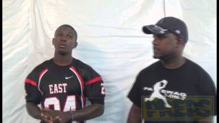 2013 CPA SWAG/EXSP Mid-Penn Football Media Day- Chase Edmonds - C.D. East
