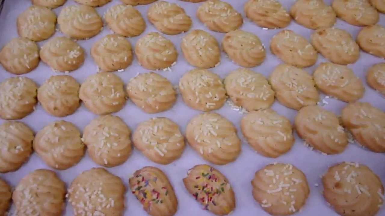 Come fare i biscotti di frolla montata pasticceria da t for Cucina ricette dolci