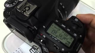 Canon EOS 70D : Shutter Sound