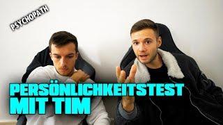 So Freunde, hoffe euch hat der Persönlichkeitstest mit Tim gefallen...