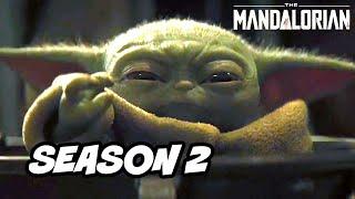 Star Wars The Mandalorian Scene - Mandalorian Jedi Wars and Season 2 Breakdown