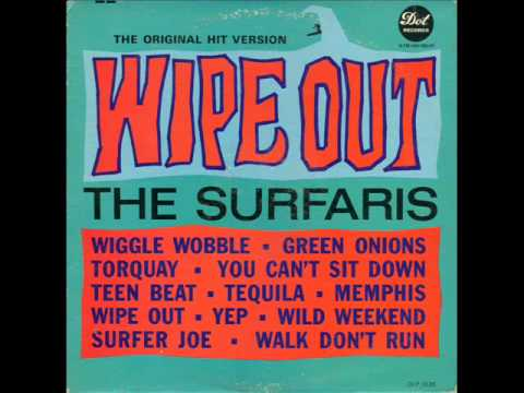 The Surfaris  Wipe out HQ AUDIO